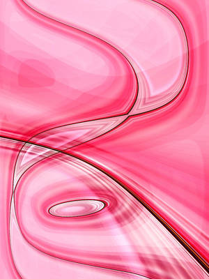 Tickled Pink Print by Tom Druin