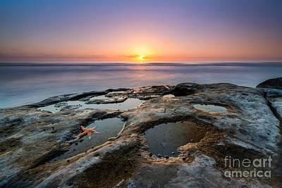 Tide Pool Sunset Original by Michael Ver Sprill