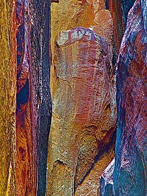 Tie Boutique  Rock In Petra-jordan. Original by Ruth Hager