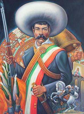Tierra De Temporal Zapata 2 Print by Arturo Miramontes