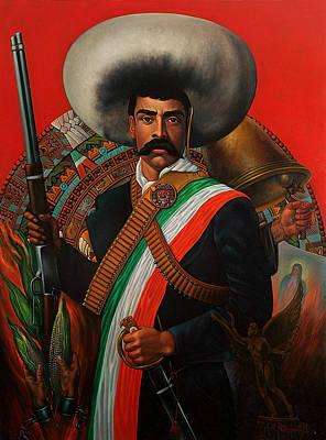 Tierra De Temporal Zapata Print by Arturo Miramontes