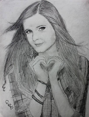 Taylor Swift Drawing - Tiffany Alvord by Jaedin Always