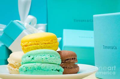 Tiffany And Company French Macaron Print by Jonas Luis
