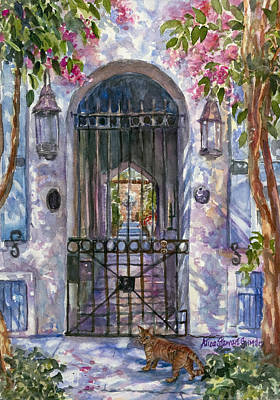 Tiger At The Gate Original by Alice Grimsley