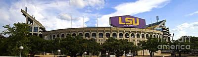 South Louisiana Photograph - Tiger Stadium Panorama by Scott Pellegrin