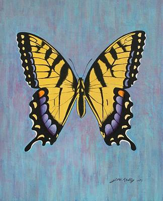 Painting - Tiger Swallowtail by J W Kelly