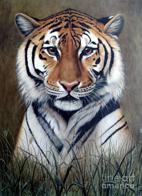 Bengal Tiger Painting - Tigger by Joey Nash