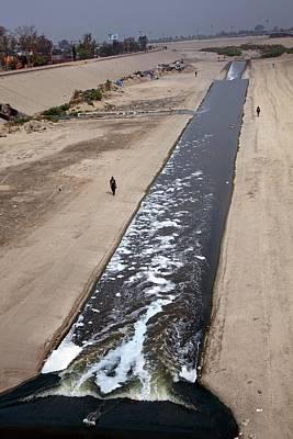 International Border Photograph - Tijuana River by Jim West
