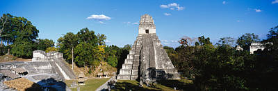 Grey Clouds Photograph - Tikal, Guatemala, Central America by Panoramic Images