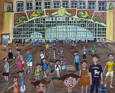Asbury Park Painting - Tillie Is Everyone by Patricia Arroyo