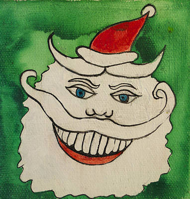 Tillie The Mischievous Santa Original by Patricia Arroyo