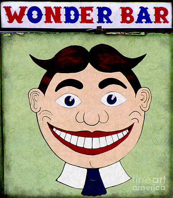 Found Art Photograph - Tillie - Wonder Bar by Colleen Kammerer