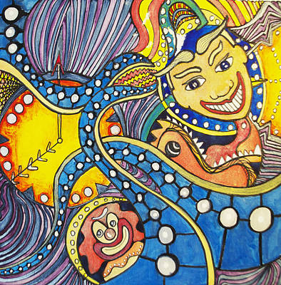 Tillies Funhouse Design Original by Patricia Arroyo