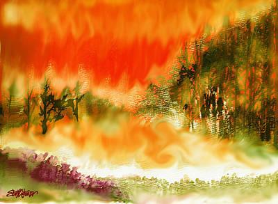 Timber Blaze Print by Seth Weaver