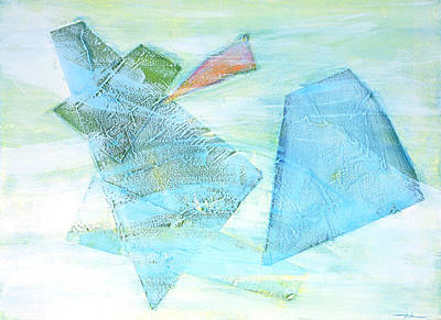Time Flying By  Print by Asha Carolyn Young