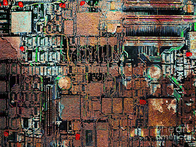 Time For A Motherboard Upgrade 20130716 Print by Wingsdomain Art and Photography