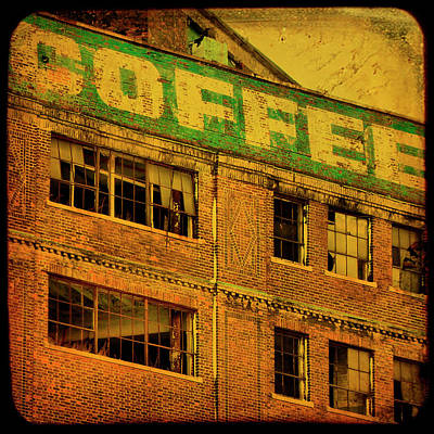 Time For Coffee Print by Gothicolors Donna Snyder