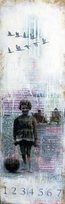 Mixed Media - Time Is A Thief by Susan McCarrell
