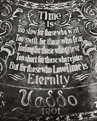 Time Is... Print by Lisa Russo