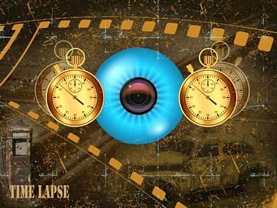 Time Lapse Print by Diskrid Art