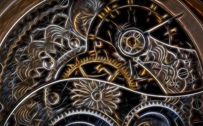 Time Machine 2 Original by Eduard Moldoveanu