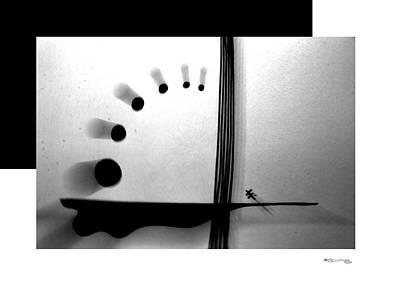 Time On A String Print by Xoanxo Cespon