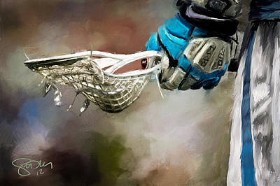 Gloves Digital Art - Time To Play by Scott Melby