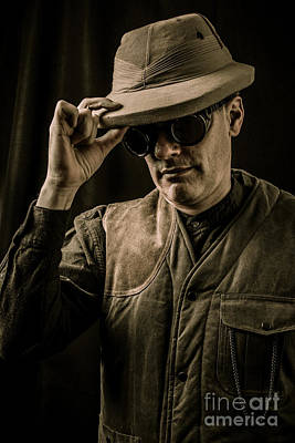 Time Traveler Print by Edward Fielding
