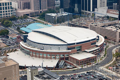 Time Warner Cable Arena Print by Bill Cobb