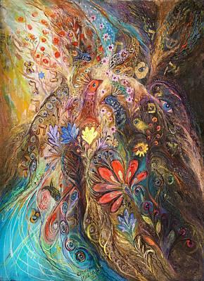Swarovski Crystal Painting - Timeless Characters II by Elena Kotliarker