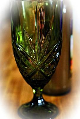 Timeless Glassware Print by See My  Photos