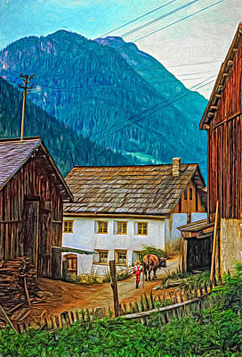 Timeless - Paint Print by Steve Harrington