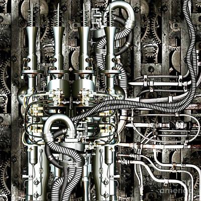 Timemachine II Print by Diuno Ashlee
