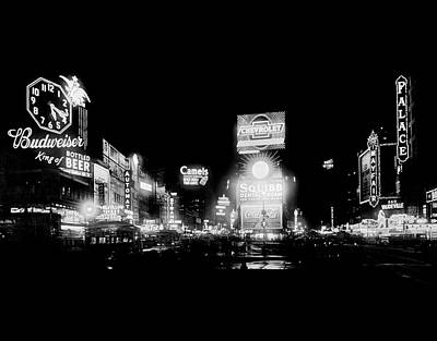 Times Square Photograph - Times Square by Library Of Congress