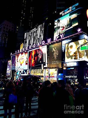 Times Square Original by Sue Rosen
