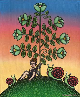 Ladybug Painting - Tinas Family by Victoria De Almeida
