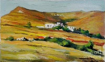 Tinos Print by George Siaba