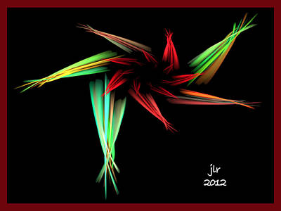 Apo Digital Art - Tiny Dancer by Janet Russell