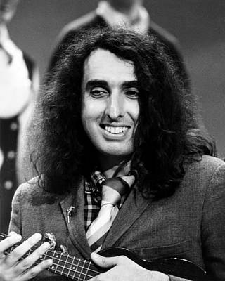 Ukulele Photograph - Tiny Tim, Ca. Late 1960s by Everett