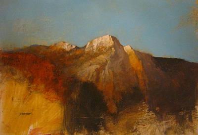 Yosemite Painting - Tioga Pass by Darryl Steele