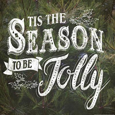 Ti Painting - Tis The Season by Laura Marshall