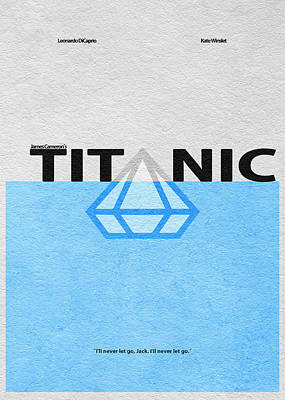 Vector Mixed Media - Titanic by Ayse Deniz