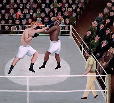 Match Painting - Title Fight by Jerzy Marek