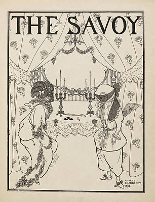 Famous Book Photograph - Title Page For No.1 Of The Savoy by British Library