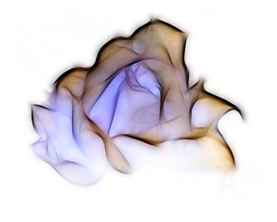 To A Rose Print by Lynn Bolt