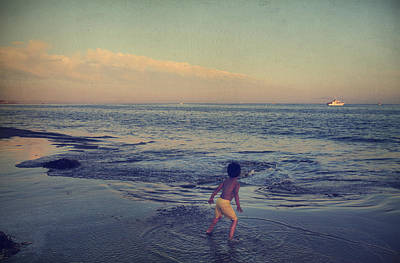 Santa Cruz Photograph - To Be Young by Laurie Search