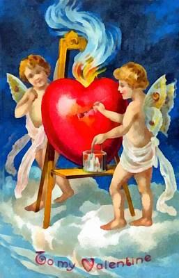 Be My Valentine Digital Art - To My Valentine by Unknown