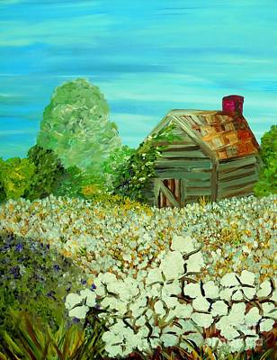 Cabin Painting - To The Edge by Eloise Schneider