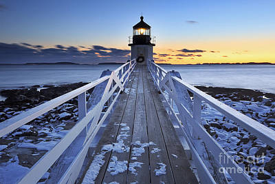 Lighthouse Photograph - To The Point by Katherine Gendreau