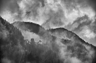Hallstatt Photograph - To The Salt Mine by Kurt Golgart